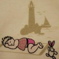 Zoom sérigraphie, Body bio Odyssée européenne