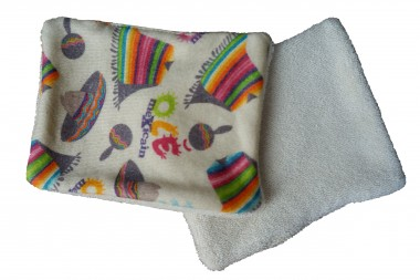 Lingettes lavables bio Olé mexicain écrues